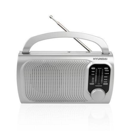 Radiopřijímač Hyundai PR 120S, stříbrný