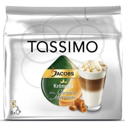 Kapsle Jacobs Latte Macchiato Caramel 8ks