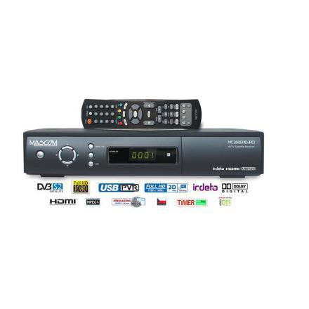 Satelitní přijímač Mascom MC2600HD USB PVR