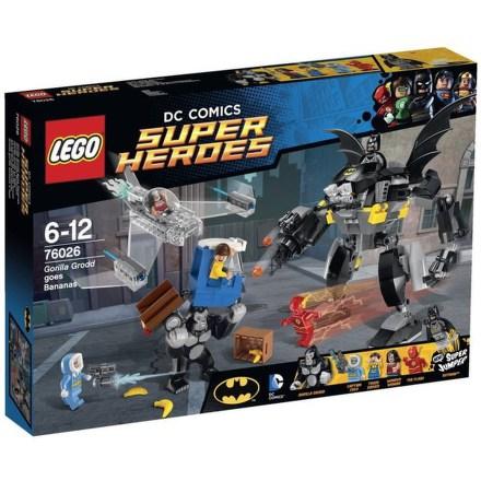 Stavebnice Lego® Super Heroes 76026 Řádění gorily Grood