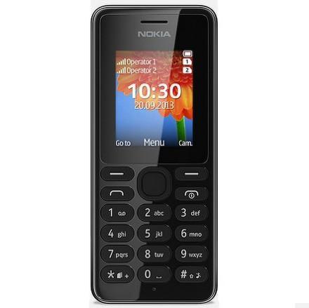 Nokia 108 DS černá