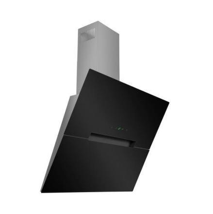 Odsavač par Guzzanti NSA 60 nerez/sklo, černý