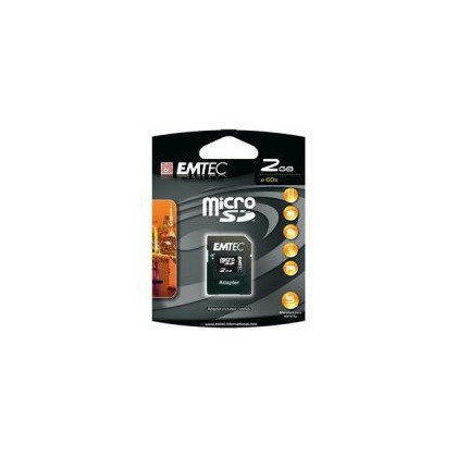 EMTEC Micro SD 8GB + SD adaptér