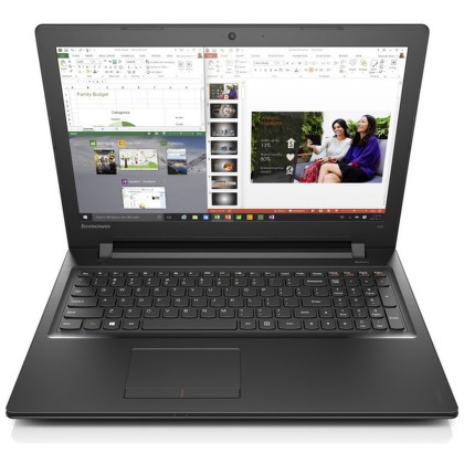 "Ntb Lenovo IdeaPad 300-15 Celeron N3150, 4GB, 500GB, 15.6"""", HD, bez mechaniky, Intel HD, BT, CAM, W10  - černý"