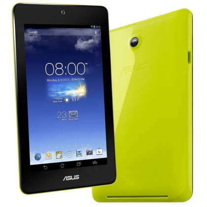 "Dotykový tablet Asus MeMO Pad ME173X-1F066A 7"""", 16 GB, WF, BT, GPS, Android 4.2 - zelený"