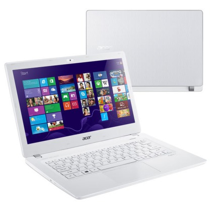 "Ntb Acer Aspire V13 (V3-371-56VF) i5-5200U, 4GB, 8+500GB, 13.3"""", Intel HD 5500, BT, CAM, Win 8.1 / Win10  - bílý"