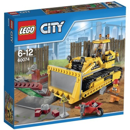 Stavebnice LEGO® CITY Demolition 60074 Buldozer