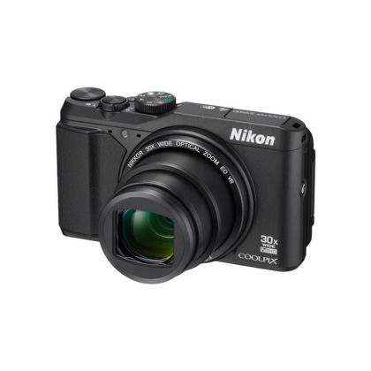 Nikon COOLPIX S9900 black + 8 GB SD card