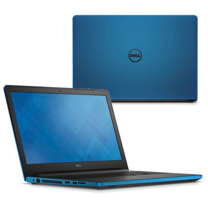 "Ntb Dell Inspiron 15 5558 i3-5005U, 4GB, 1TB, 15.6"""", HD, DVD±R/RW, Intel HD 5500, BT, CAM, Win 8.1 / Win10  - modrý"