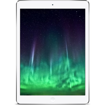 "Dotykový tablet Apple iPad Air Wi-Fi Cell 32 GB 9.7"""", 32 GB, WF, BT, 3G, Apple iOS - stříbrný"