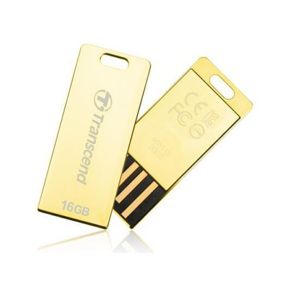 USB Flash Transcend JetFlash T3G 16GB USB 2.0 - zlatý
