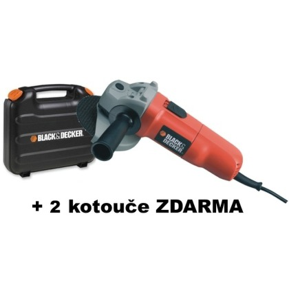 Bruska úhlová Black&Decker CD115KAX 700W