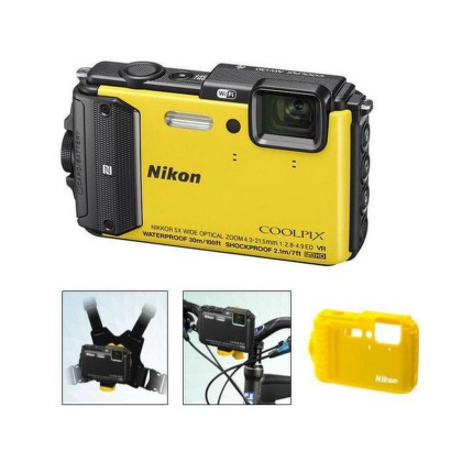 Nikon COOLPIX AW130 yellow outdoor kit