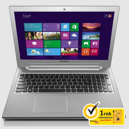 "Ntb Lenovo IdeaPad Z510 i3-4000M, 4GB, 8+1000GB, 15,6"""", DVD±R/RW, Intel HD, BT, CAM, W8"