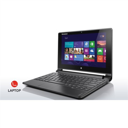 "Ntb Lenovo IdeaPad Flex 10 Touch Pentium N3510, 4GB, 500GB, 10,1"""", Intel HD, BT, CAM, W8  - černý"