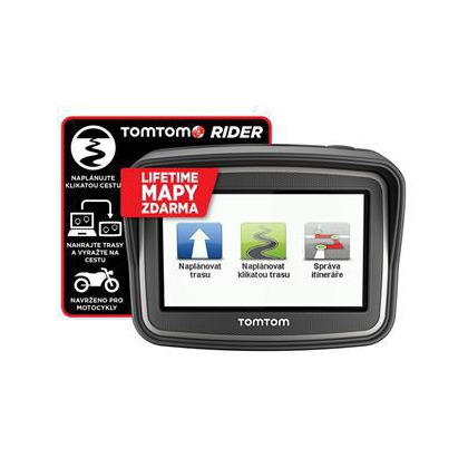 Navigace TomTom Rider Europe Lifetime mapy