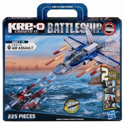 Stavebnice Hasbro KRE-O Battleship Air Assault Set