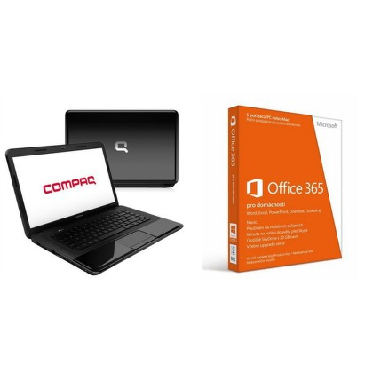 "Set Ntb HP Compaq CQ58-305SC AMD E1-1200, 4GB, 500GB, 15,6"""", DVD±R/RW, AMD HD 7310G, BT, CAM, W8  - černý + PROMO - Software Mi"