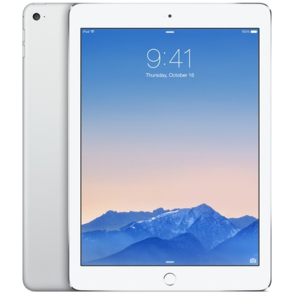"Dotykový tablet Apple iPad Air 2 Wi-Fi 128 GB 9.7"""", 128 GB, WF, BT, Apple iOS - stříbrný"