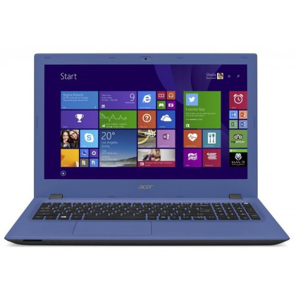 "Ntb Acer Aspire E15 (E5-573-38B9) nový design i3-4005U, 4GB, 500GB, 15.6"""", DVD±R/RW, Intel HD, BT, CAM, Win 8.1 / Win10  - modr"