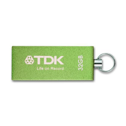 Flash USB TDK Trans-IT 32GB USB 2.0 - zelený