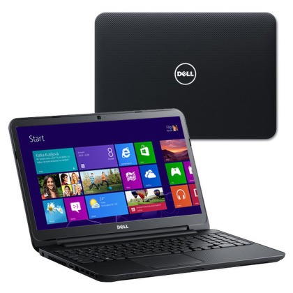 "Ntb Dell Inspiron 15 3521 i7-3537U, 4GB, 1TB, 15,6"""", DVD±R/RW, AMD HD 8730M, 2GB, BT, CAM, W8  - černý"