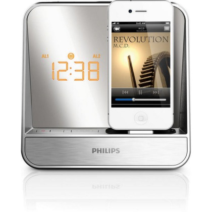 Radiobudík Philips AJ5300D s dokem pro iPod a iPhone