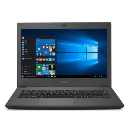 "Ntb Acer Aspire E14 (E5-473-P5J7) Pentium 3556U, 4GB, 500GB, 14"""", Full HD, DVD±R/RW, Intel HD, BT, CAM, W10  - šedý"