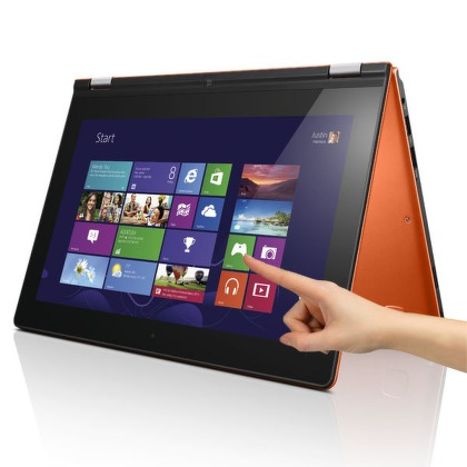 "Ntb Lenovo IdeaPad Yoga 11S Touch i3-3229Y, 4GB, 128GB, 11,6"""", Intel HD, BT, CAM, W8  - oranžový"