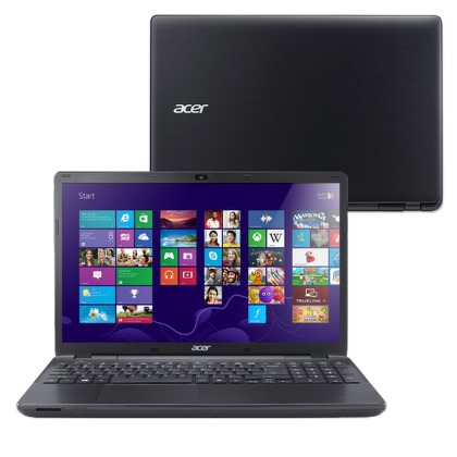 "Ntb Acer Aspire E15 (E5-571P-34CD) i3-5005U, 4GB, 8+500GB, 15.6"""", DVD±R/RW, Intel HD 5500, BT, CAM, Win 8.1 / Win10  - černý"