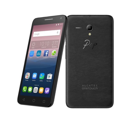 ALCATEL ONETOUCH 5025D POP 3 (5.5), Black Leather