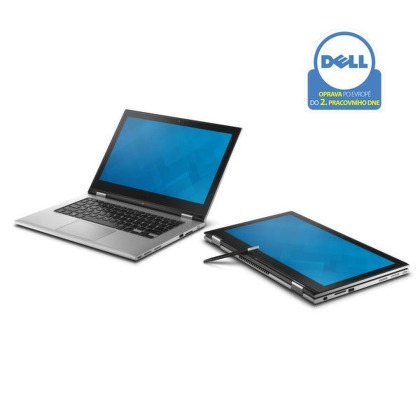 "Ntb Dell Inspiron 13R 7347 Touch i5-4210U, 8GB, 500GB, 13.3"""", Intel HD, BT, CAM, W8.1  - stříbrný"