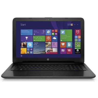 "Ntb HP 250 G4 Celeron N3050, 4GB, 500GB, 15.6"""", DVD±R/RW, Intel HD 4400, BT, CAM, Win 8.1 / Win10  - černý"
