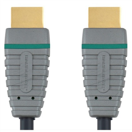 Kabel Bandridge Blue Blue HDMI 1.4, 3m