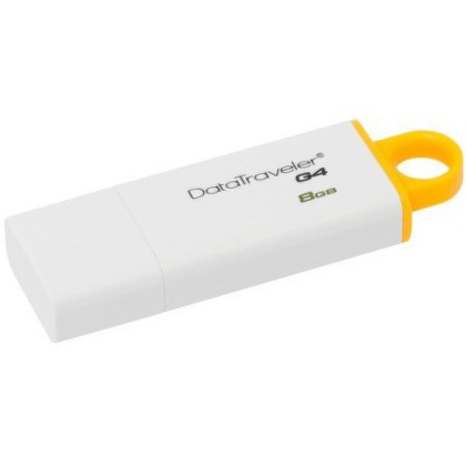 Flash USB Kingston DataTraveler G4 8GB USB 3.0 - žlutý