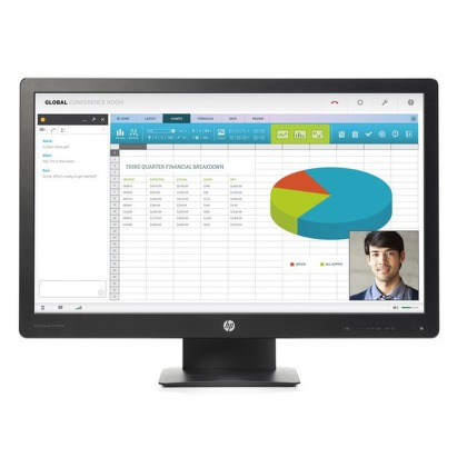 "Monitor HP P240va 23,8"""",LED, VA, 8ms, 5000000:1, 250cd/m2, 1920 x 1080,DP,"