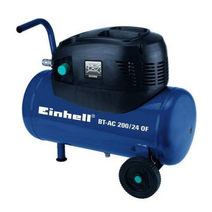 Kompresor Einhell BT-AC 200/24 OF Blue, bezolejový