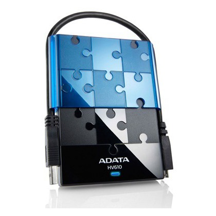 ADATA HV610 1TB Ext. USB 3.0 2.5'' HDD Blue