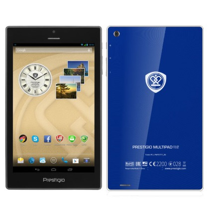"Dotykový tablet Prestigio MultiPad Color PMT5777 7"""", 16 GB, WF, BT, 3G, GPS, Android 4.2 - modrý"