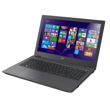 "Notebook Acer Aspire E15 (E5-573-P3UA) Pentium 3825U, 4GB, 500GB, 15.6"""", DVD±R/RW, Intel HD, BT, CAM, Win 8.1 / Win10  - šedý"