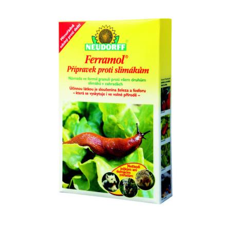 Granulát Agro Ferramol proti slimákům 1kg