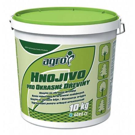 Hnojivo pro okrasné dřeviny plast. kb. 10 kg