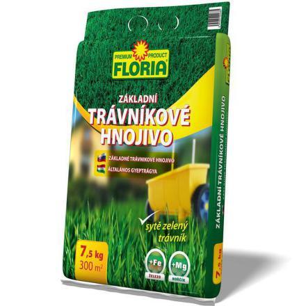 Hnojivo Agro FLORIA Trávníkové základní 7,5 kg