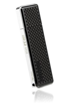 Flash USB Transcend JetFlash 780 64GB USB 3.0 - černý/šedý