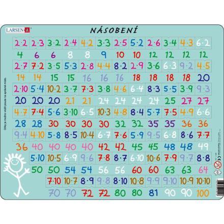 Puzzle Larsen Násobení a dělení 2ks