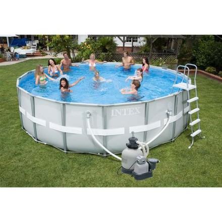 Bazén Intex Frame Set Ultra Rondo II 5,49 x1,32 m, písková filtrace