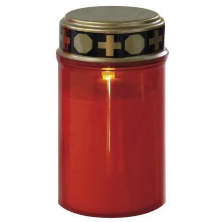 LED hřbitovní svíčka nízká P4601