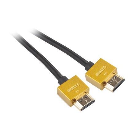 Kabel GoGEN HDMI 1.4, 1,5m, pozlacený, High speed, s ethernetem