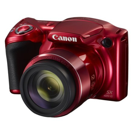 Fotoaparát Canon PowerShot SX420 IS, červený