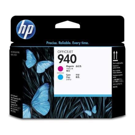 Inkoustová náplň HP No. 940 originální - červená/modrá